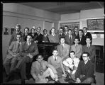 Music fraternity Mu Upsilon Sigma, 1949
