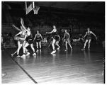 Basketball Game with Pacific University 1950-1951