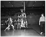 Basketball Game with the University of Oregon Ducks 1950-1951