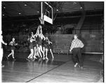 Basketball Game with Whitman College 1950-1951