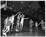 Basketball Game with Whitworth College 1950-1951