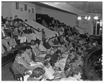 Career conference in chapel, 1951