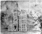 Puget Sound University's first building, 1890