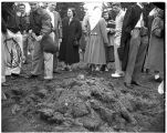 Collins Memorial Library Groundbreaking, 1953