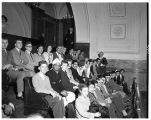 International students visit the Washington State Capitol, 1949