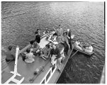 Puget Sound cruise on the CPS boat, 1949