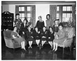 Faculty women's club, 1949
