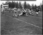 1953 Loggers football game with University of British Columbia