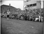 1953 Loggers football game with Pacific Lutheran College