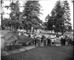 Howard R. Kilworth Memorial Carillon dedication, 1954