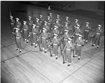Air Force ROTC drill team, 1955