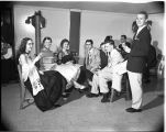 International Relations Club conference dance, 1955