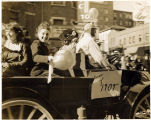 1947 homecoming parade in downtown Tacoma