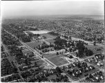 College of Puget Sound Aerial View, 1954