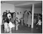 Children at day nursery, 1949