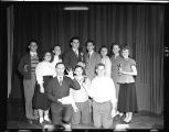 High school debate tournament, 1949