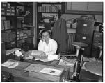 Unidentified staff member, 1949