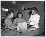 Occupational therapy students, 1949