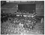 Commencement 1949 in Memorial Fieldhouse