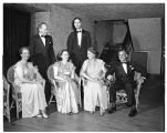 College of Puget Sound formal dance chaperones, 1949