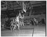 Basketball Game with University of British Columbia 1949-1950
