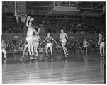 Basketball Game with Eastern Washington 1949-1950