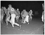 1950 Loggers football game with Central Washington State College