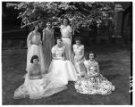 May Queen Betty Rusk and friends, 1951