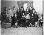 President's home gathering, 1951