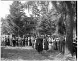 Music Building groundbreaking, 1952