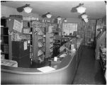 Kittredge Hall bookstore, 1953