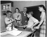 Occupational therapy May Day celebration open house, 1952
