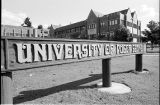 New campus signs, 1978