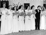 C. Cole Barnard/Alice Ann Cross '47 wedding, 1947