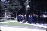Thompson Hall dedication, 1968