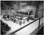 Messiah performed in Memorial Fieldhouse, 1952