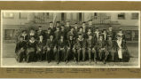 Class of 1918 graduation group portrait