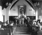 Day and Sapp wedding in the Little Chapel, 1945