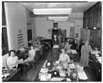 Bursar's office staff, 1950