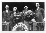 President Todd and others on NP's North Coast Limited, circa 1925
