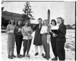 Winter Carnival Snow Queen candidates, 1949